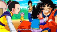 Milk se preocupa por Goku