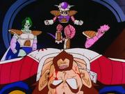 Rey Vegeta muere en manos de Freezer