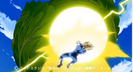 Vegeta's Final Flash vs. Cabbage 2
