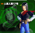 Android 17 XV2 Character Scan