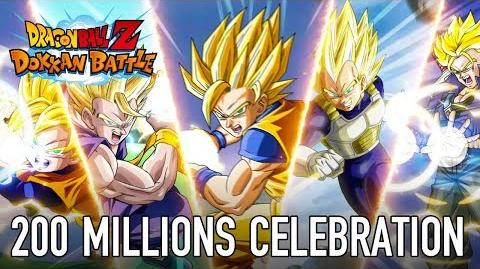 Dragon Ball Z Dokkan Battle - Ios Android - 2 years anniversary