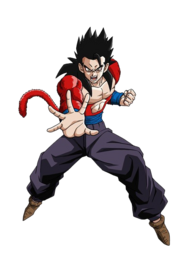 Gohan SSJ 4 Official Artwork Render