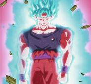 Goku (Super Saiyajin Blue Kaio-ken x20)