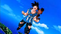 Goku en uub einde