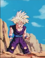 Teen gohan beating up by turles.6
