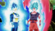 Vegeta e Son Goku SSB Full Power