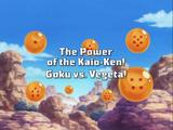 The Power of Kaio-Ken! Goku vs. Vegeta!