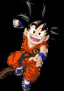 Render de Goku niño