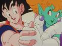 Goku and Princess Snake dance