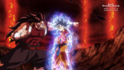 Goku istito çuperior