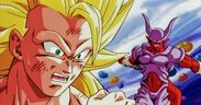 Janemba Espada Dimensional vs Goku SS3