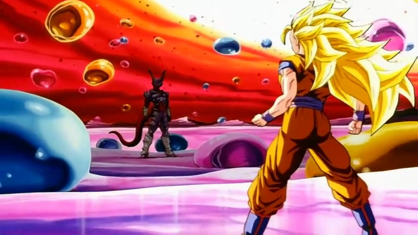 SSJ 3 Goku Vs Jenemba