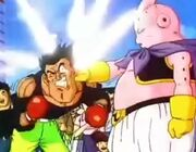 Buu striking pit bull pete