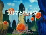 Goku conosce Bulma