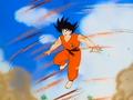 GokuShowsHisRealSpeed