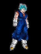 Vegetto Super Saiyan Azul Artwork