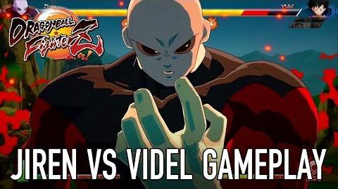 Dragon Ball FighterZ - PS4 XB1 PC SWITCH - Jiren VS Videl (Gameplay)