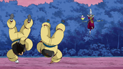 Goku e Vegeta 50000 push-ups