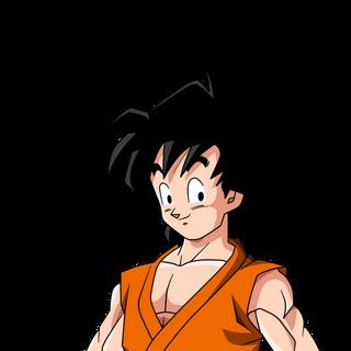 Son Goten in Dragon Ball Z, dieci anni dopo.
