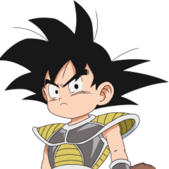 Son Goku bambino in Dragon Ball Super: Broly.