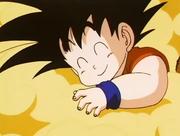 Awwwwwwwwwwww Chibi Goku sooo kawaiiiii atarashi Kinto Un!