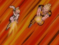 Goten Attack Shenron