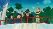 Son Goku, Crilin, Muten e Lunch - Torneo di Miifan