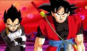 Xeno Goku and Xeno Vegeta 02