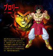 Broly personaje Dragon Ball z