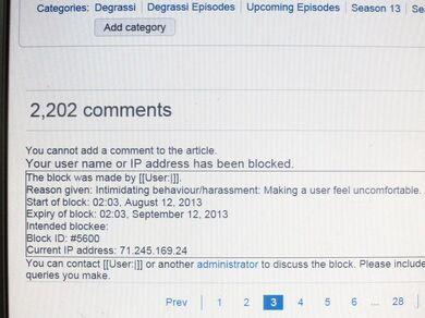 Degrassi Wiki Anti-Block Evidence Profile Picture