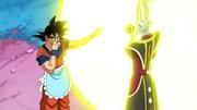 Goku bomba Whis