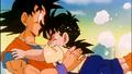 Goku in Gohan's dream
