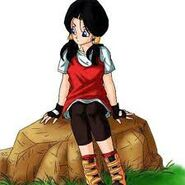 Videl in the manga and anime Dragon Ball Z series-1