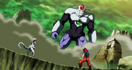 Anilaza vs Freezer y Goku