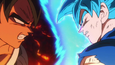 Dragon Ball Super- Broly Goku SSB vs. Broly Iracundo (Naoki Tate)
