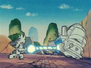 Goku usa l'Onda Energetica