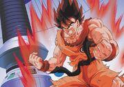 Goku si allena