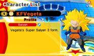 KF SS3 Vegeta (SS3 Goku)