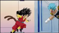 DXRD Caption of Fisshi in Dragon Ball Heroes Promotional video on Frieza's spaceship