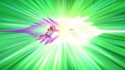 Goku e Bill-Monaca luta