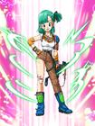 Dokkan Battle Seeking Thrill & Romance Bulma (Youth) card (Wild Rider Suit)