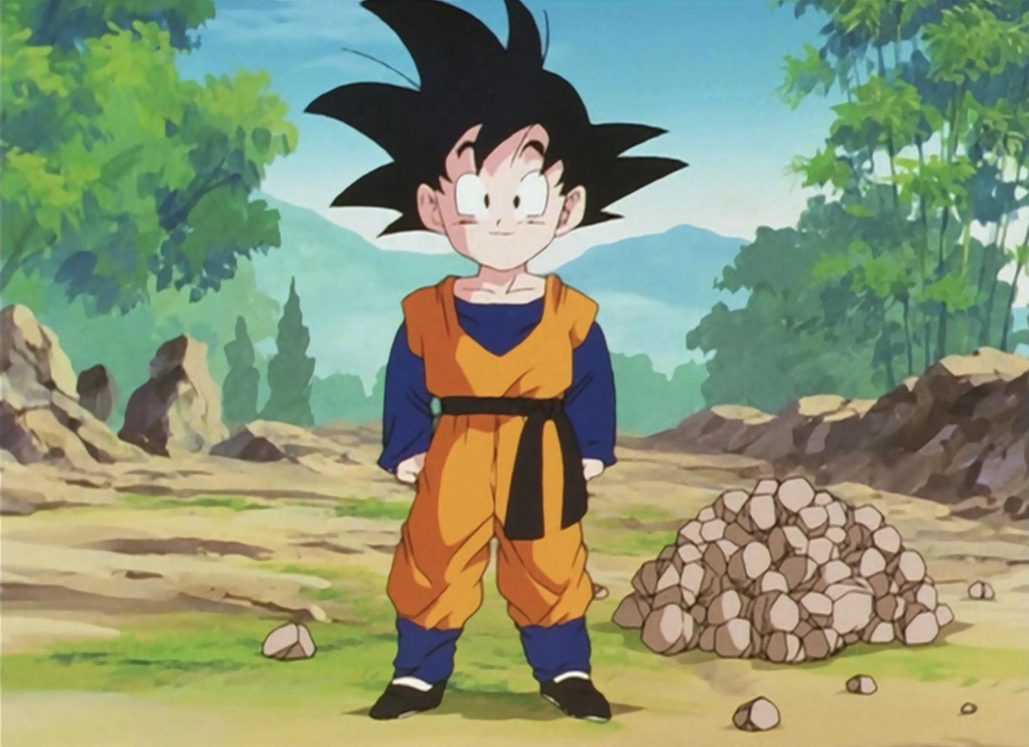 Dragon Ball Z Gotenks Standing Style DBZ Goten Trunks Fusion Goku Action Figure
