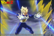 Vegeta Super Saiyan fighting