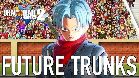Dragon Ball Xenoverse 2 - PC PS4 XB1 - Future Trunks (Gameplay)