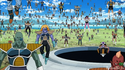 Frieza 1000 soldiers army next to him getting out Sorbet's Spaceship in DBSuper EP21 10