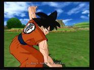 Saga Saiyan Budokai Tenkaichi 3-Goku inicio