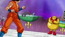 Botamo vs Goku