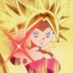 Caulifla Super Saiyan.