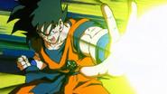 Goku Attacking Angila