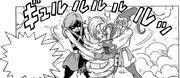 Kakunsa e Rozie bloccano Androide 18 - manga